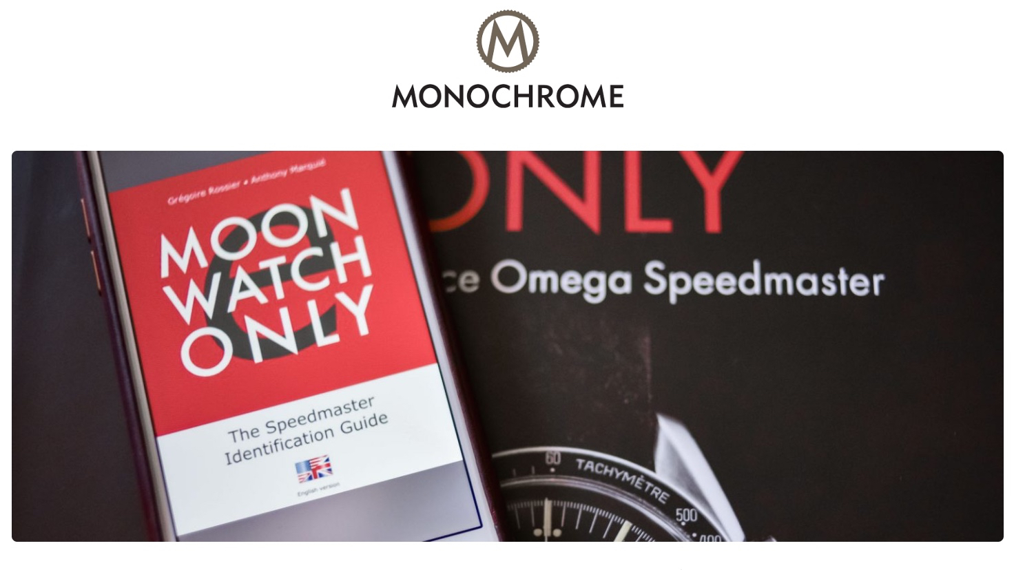 ELECTRONIC MOONWATCH ONLY <br> BY MONOCHROME