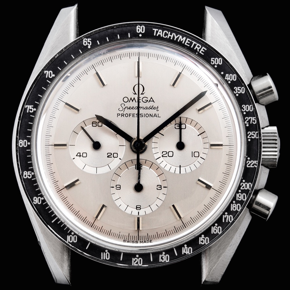 THE VERY FIRST SPEEDMASTER WITH DISPLAY BACK