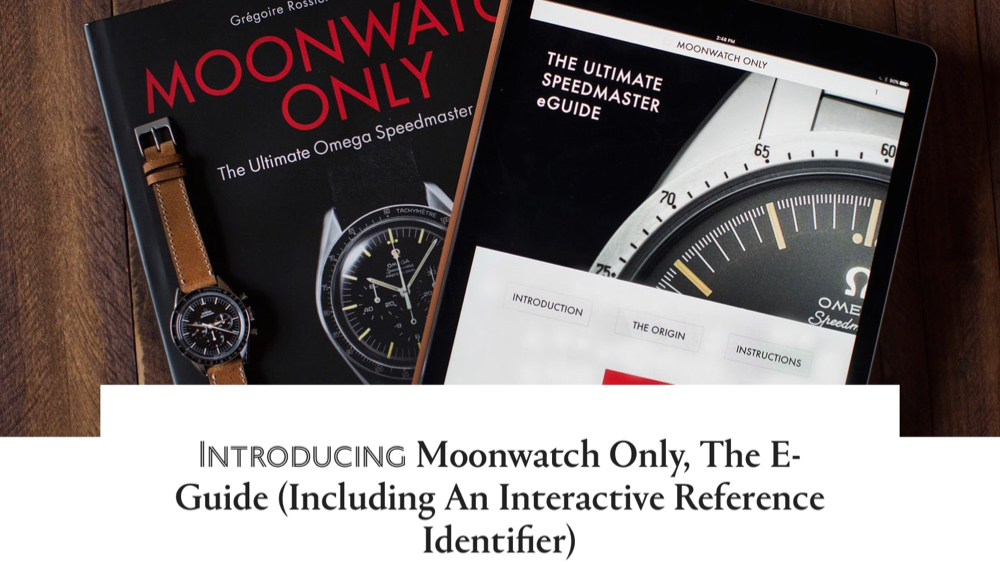 MOONWATCH ONLY ELECTRONIC GUIDE – HODINKEE REVIEW