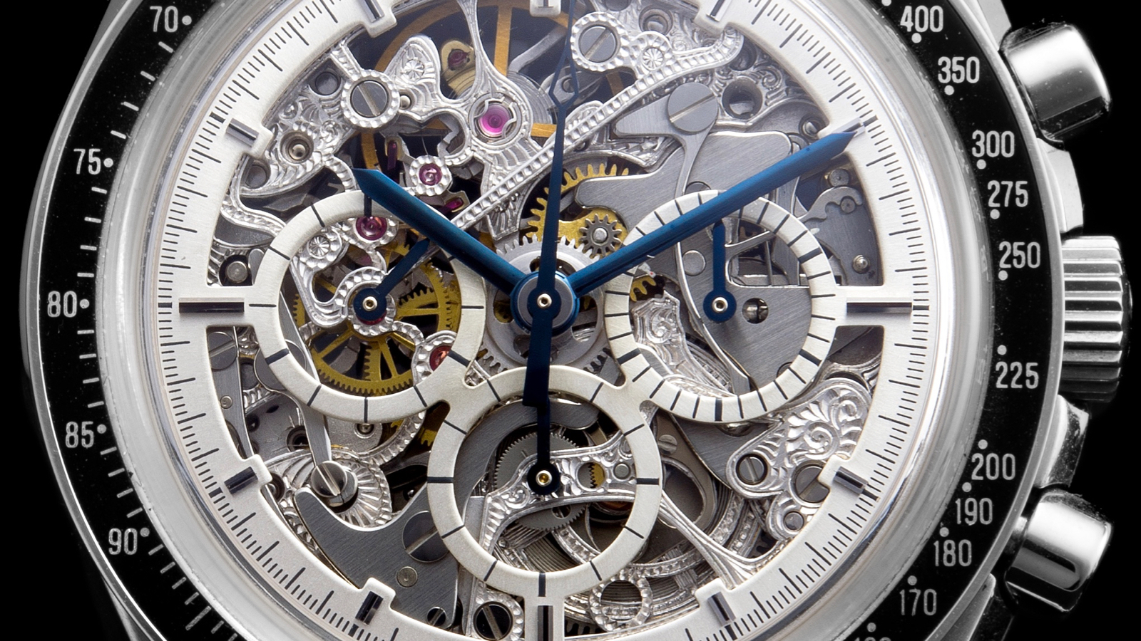 THE SKELETONIZED SPEEDMASTER SERIES